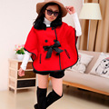 Kids girls Hitz fight skin cape coat Korean tide child