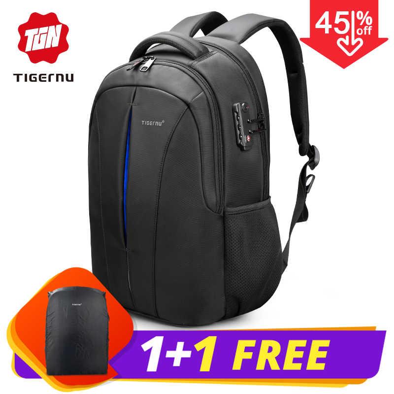 e1360b5e89a7 2018 Tigernu Brand Women Backpacks Student College School Bags Waterproof  Backpack Men Rucksack Mochila Laptop Bag