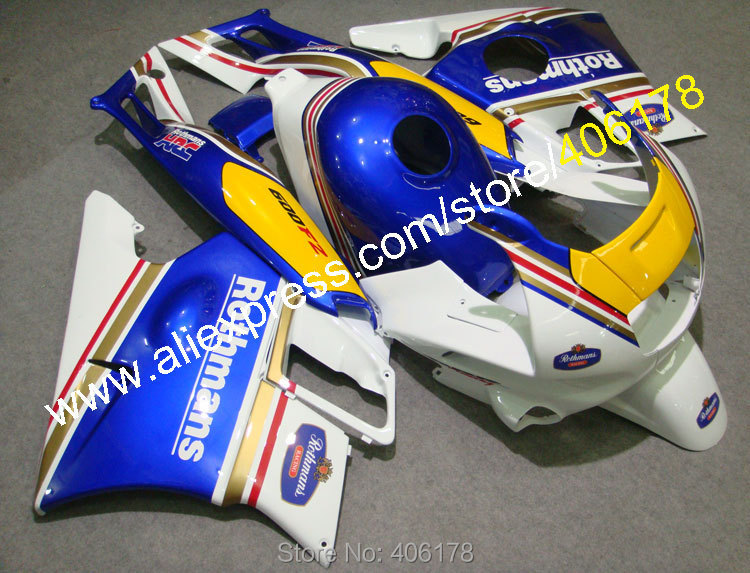 Hot Sales,Motocycle fairings for HONDA CBR600 F2 91 92 93 94 CBR600F2 1991 1992 1993 1994 CBR 600 rothmans fairings set