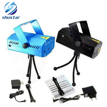 Mini Laser Stage Lighting – Free Shipping Blue/Black 150mW Green&Red Laser DJ Party Stage Light Disco Dance Floor Lights