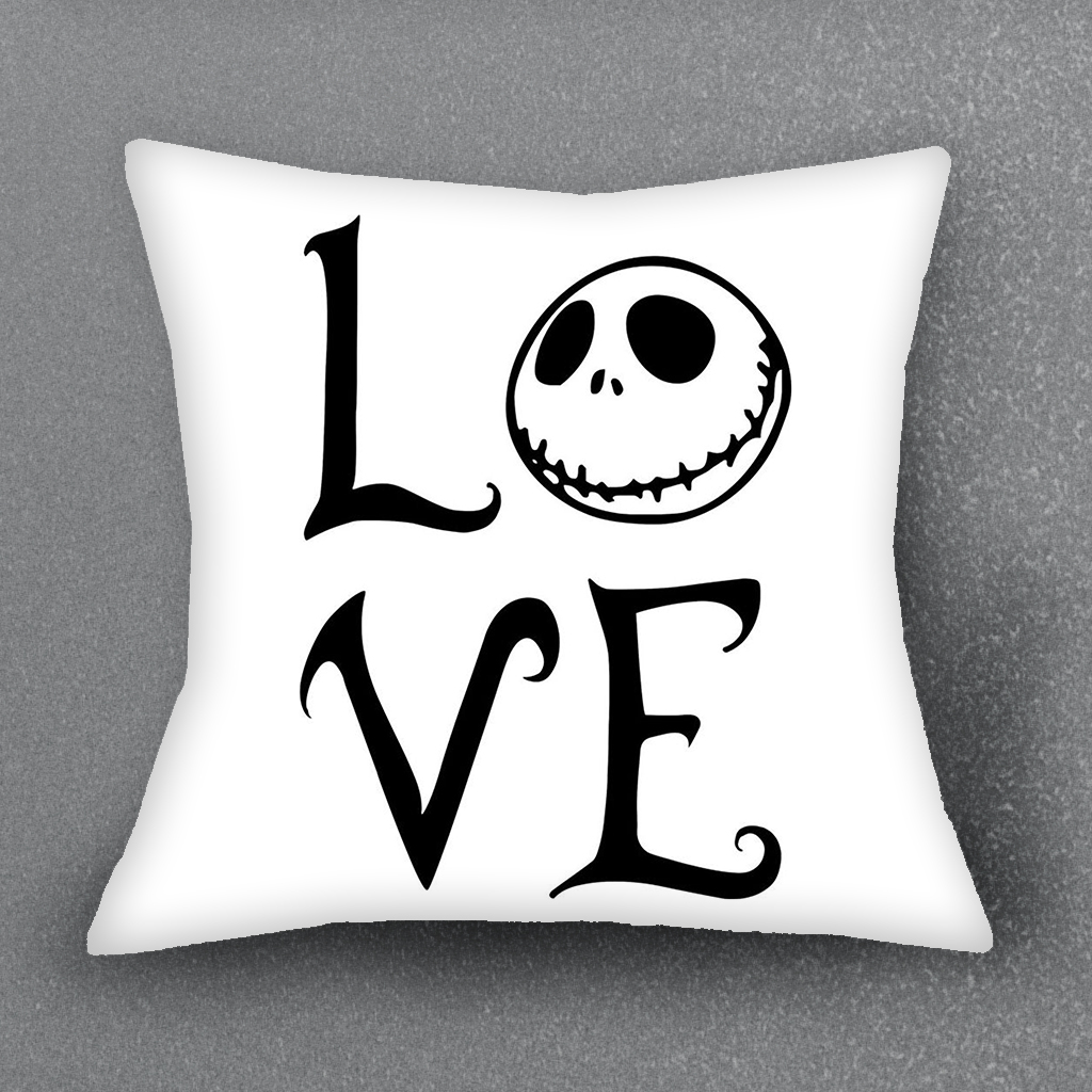 The Nightmare Before Christmas Cushion Cover Pillow Case For Sofa ...