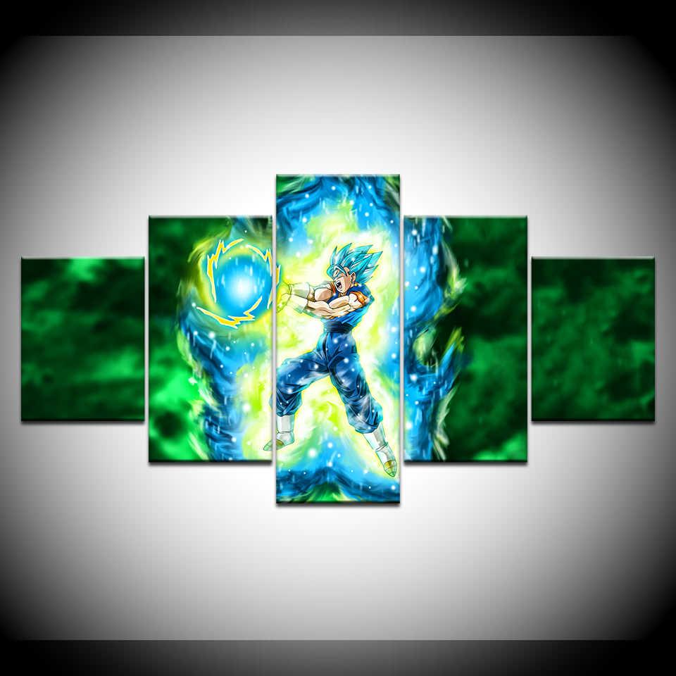 Super Saiyan Blue Vegito Dragon Ball Z 5 Piece Wallpapers Art
