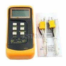 Sale Dual 2 Probe Sensor K-Type Digital Thermometer Thermocouple 1300 Degree