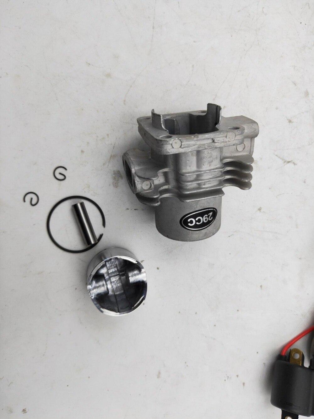 Ensemble moteur 4 trous 29cc pour moteurs RCMK HPI CY ZENOAH G290 pièces de bateau rc