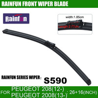 RAINFUN Dedicated Car Wiper Blade For Peugeot 2008 28 26 INCH Auto Wiper With High Quality