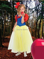 high quality carnival  cosplay Performance  girls party dress Snow White princess dress