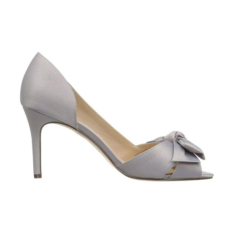 Nudo Peep 2019 Orsay 16 Grey Primavera Nancyjayjii Finos Zapatos Microfibra Toe Tacones 4 Trabajo Mariposa Alto De Tacón qExtRx7