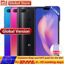 Küresel Sürüm Xiao mi mi 8 Lite 6 GB 128 GB cep TELEFONU 6.26