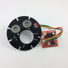 45 degree, Spot Light Infrared 2x IR LED board for CCTV cameras night vision.CY-ZL2A45