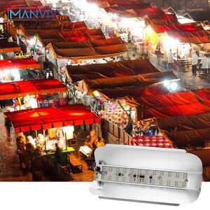 Image 4 - 50 W 100 W LED הארה AC 220 V LED SMD 2835 שבב חם לבן קר לבן גבוהה כוח LED רחוב מנורת נוף תאורת זרקור