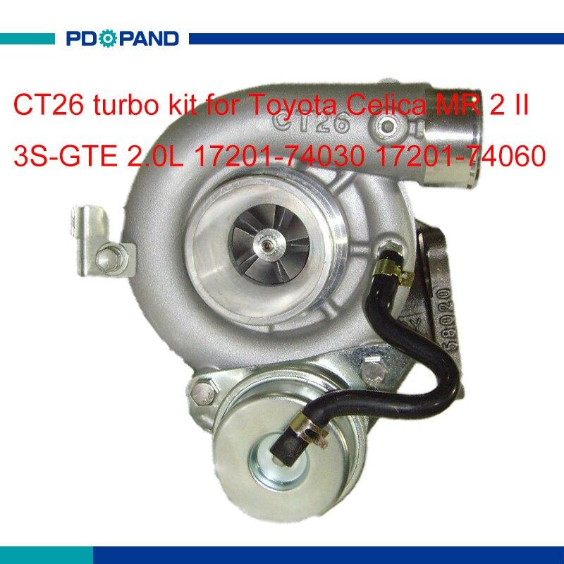 TOYOTA 3S-GTE Celica MR2 CT26 ST185 SW20 Turbine Outlet Gasket Fit 6 /& 7 Bolt