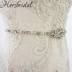 Image 4 - Жемчуг и стразы свадебные пояса серебро пояса свадебное платье с поясом