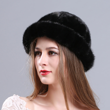MIARA.L new mink hat  fur lady winter warm hat pot hat wholesale free shipping berets cap for woman natural fur top hat 2016 hot selling lady s the new mink fur mink hat knit cap children winter thickening warm winter hat free shipping 3color sd21