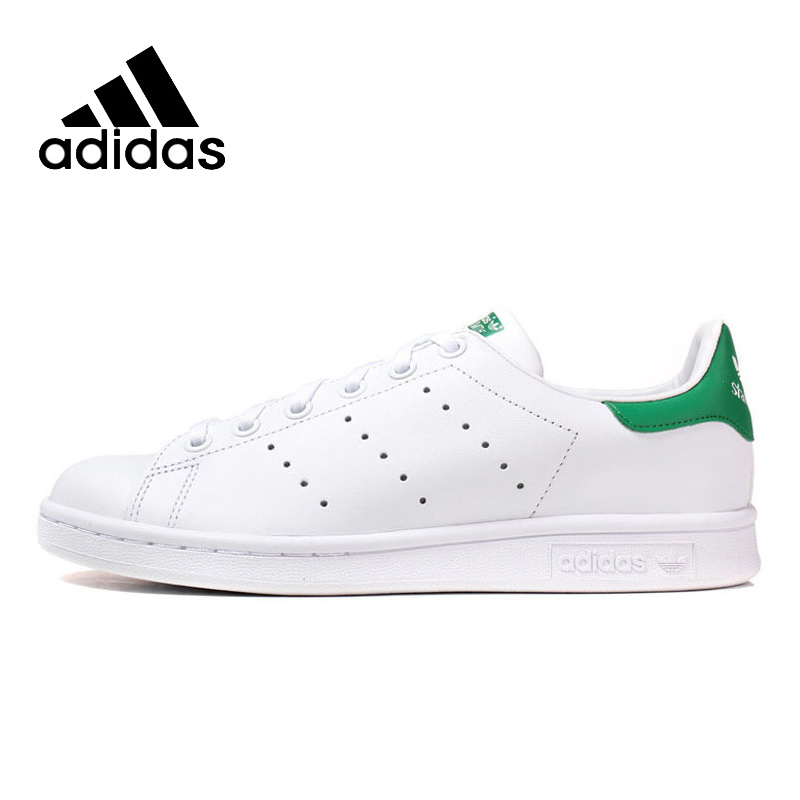 ADIDAS Original New Arrival Womens  Stan Smith Skateboarding Shoes Breathable Stability High Quality Lightweight For Women купить дешево онлайн