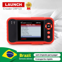 LAUNCH X431 CRP123 Code Reader Scan tool Support OBD2/Engine/ABS /Airbag/AT test CRP 123 obd 2 auto diagnsotic tool free update