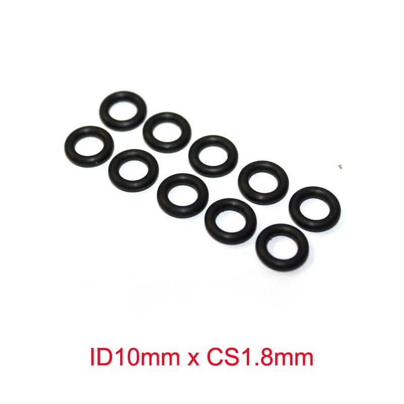 Купить с кэшбэком ID10mm x CS1.8mm NBR rubber O ring O-rings Gasket seal