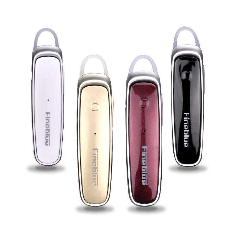 Fineblue FX-1 Super bass czysty głos bezprzewodowy zestaw słuchawkowy Bluetooth 4.0 słuchawki Stereo słuchawki dla telefonów komórkowych z systemem android