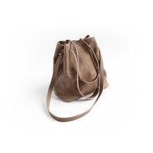 Vendange retro lady bag cowleather bucket shoulder bag/ handbag/ messenger bag 2383