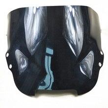 Schwarz/transparent farbe motorrad abdeckungen windschutzscheibe motorrad windschutzscheibe für honda vfr750 1994-1997 94 95 96 97