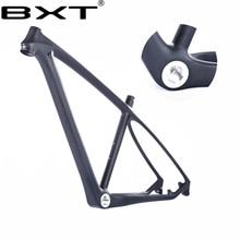 BXT marque T1000 de carbone vtt cadre 29er/27.5er vtt cadre en carbone 29 carbone vtt cadre 142*12 ou 135*9mm cadre de la bicyclette