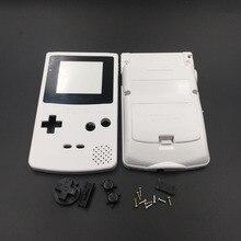 Weiß & Grau Für Nintendo GBC GameBoy Farbe Ersatz Gehäuse/Shell Fall Abdeckung Haut
