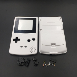 Image 1 - White & Grey For Nintendo GBC GameBoy Color Replacement Housing / Shell Case Cover Skin
