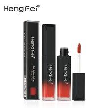 1Pcs 6Colors velvet matte mist face liquid lipstick waterproof lasting non-touch cup lip glaze lip color cosmetics beauty makeup