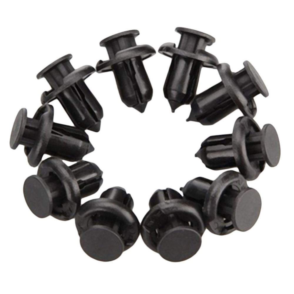 10 pcs Insight Front Bumper Locking Clip Fastener Push Latch Rivet Trim