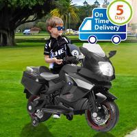 Uenjoy Kids Motorcycle Electric Ride On Motorcycle 12V/ 2 Wheels/ Black