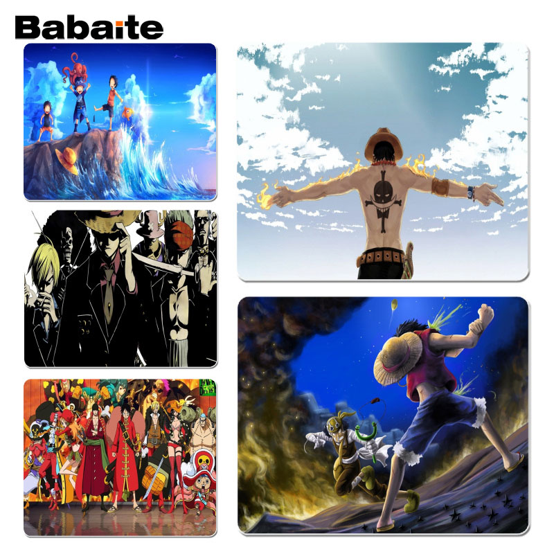 Babaite My Favorite Ace Tattoo One Piece Silicone Pad to Mouse Game Size for 18x22cm 25x ...