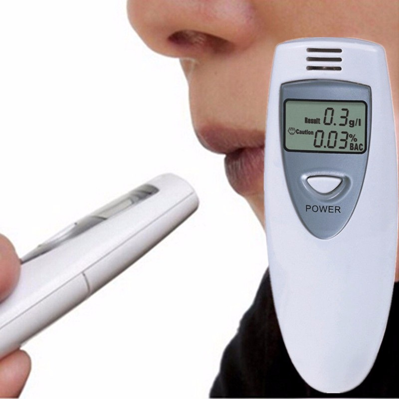 Digital Breath Alcohol Tester Professional Breathalyzer LCD display Alcohol Analyzer Digital Alcohol Breath Tester