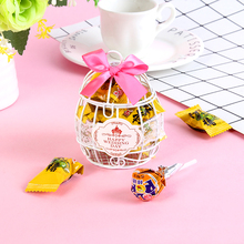 Candy box Favours Birthday Party decoration,Wedding decoration Cage Metal Chocolate Box, Gift Sweet Love