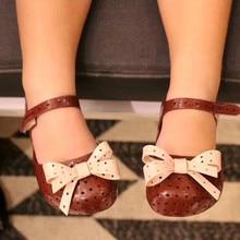 Mini Melissa Original Brand Girls Jelly Sandals Cute Bowtie Childrens Shoes kids Lovely childrens rubber Beach Shoe