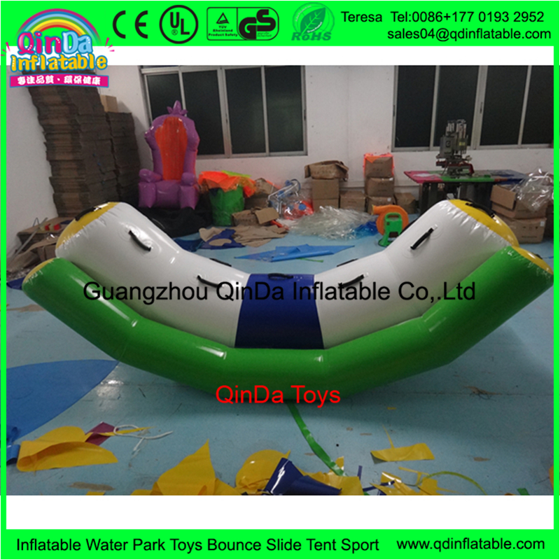 inflatable water tube seesaw18