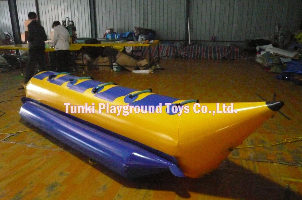 6 seats inflatable banana boat