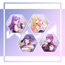 Computer Games KDA Akali Kaisa Ahri Evelynn Badges Brooch Cosplay Costume Men Women Collection Cosplay Accessories Prop(China)