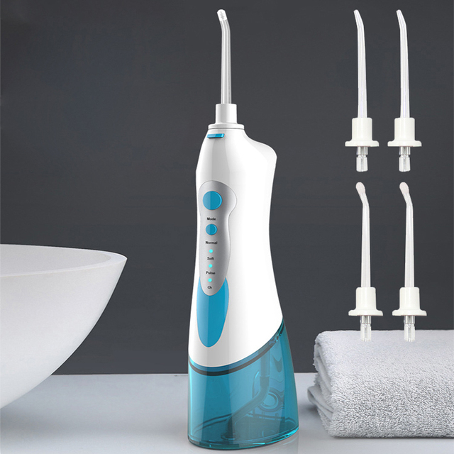 Electric mouthwash water floss rechargeable portable water floss electric tooth washing red teeth