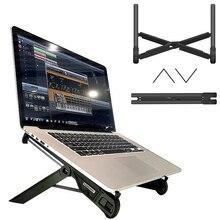 K7 Портативная подставка для ноутбука, складной держатель, регулируемый кронштейн для ноутбука, универсальная Эргономичная подставка для ноутбука