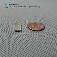 2000pcs N42H NdFeB Magnet Block 16x6x2 mm Oil filter magnets 5/8
