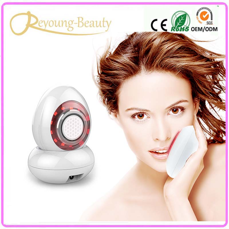 NEW rf Radio Frequency Photon Light Therapy Skin Whitening Facial Rejuvenation Beauty Massager With Water Tank Nano Moisturizing anti acne pigment removal photon led light therapy facial beauty salon skin care treatment massager machine