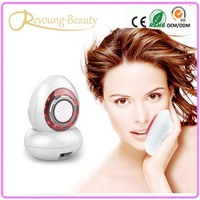 NEW rf Radio Frequency Photon Light Therapy Skin Whitening Facial Rejuvenation Beauty Massager With Water Tank Nano Moisturizing