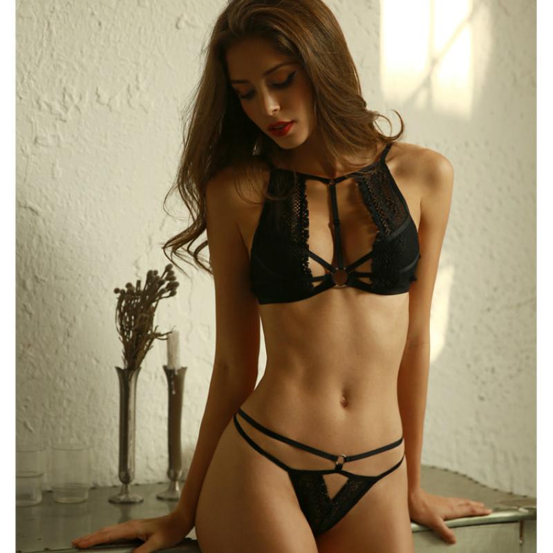 292425ff96 ... Underwear Suit Homewear Temptation Roupas Feminina USD 9.89 piece. High  Quality New Black Women Sexy Lingerie Lace Shell Bra G-string Suit  Transparent ...