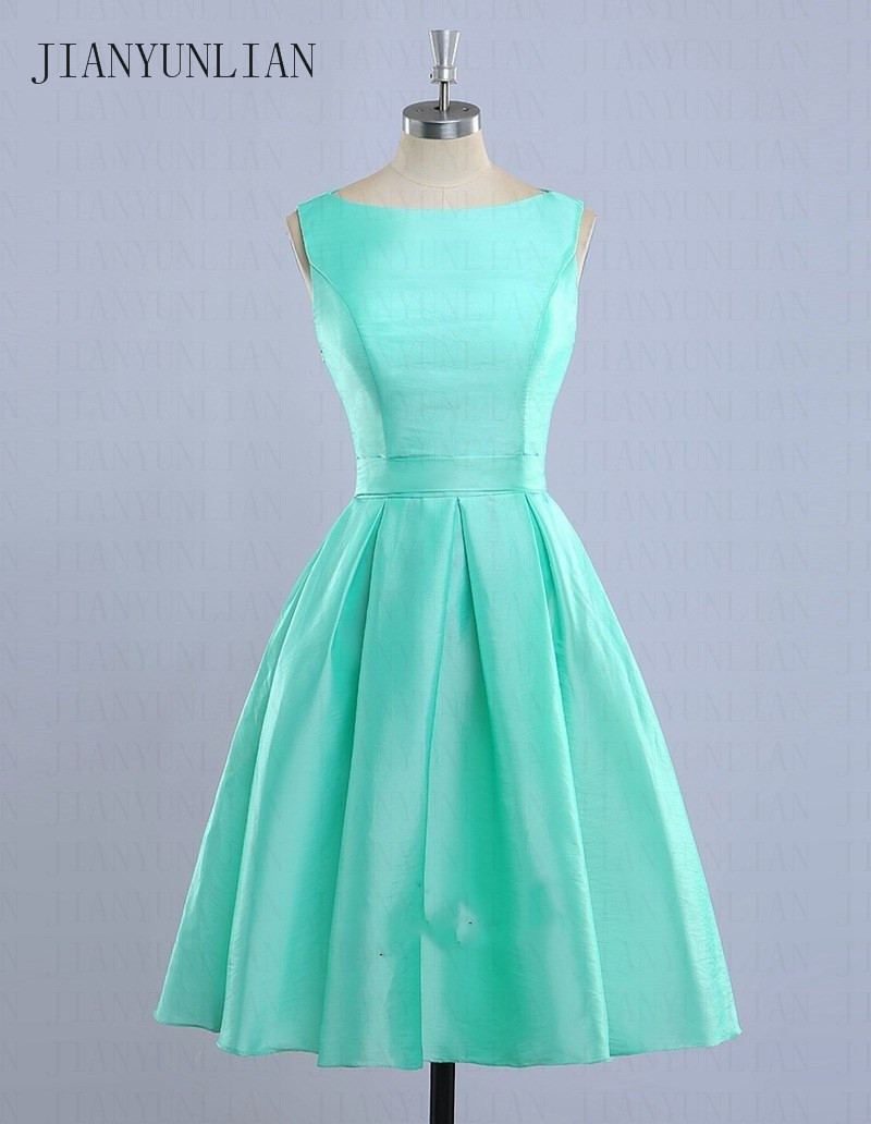Vestidos De Madrinha Mint Green Bridesmaid Dresses 2020 Light Blue Short Bridesmaids Dress Casamento Robe Demoiselle