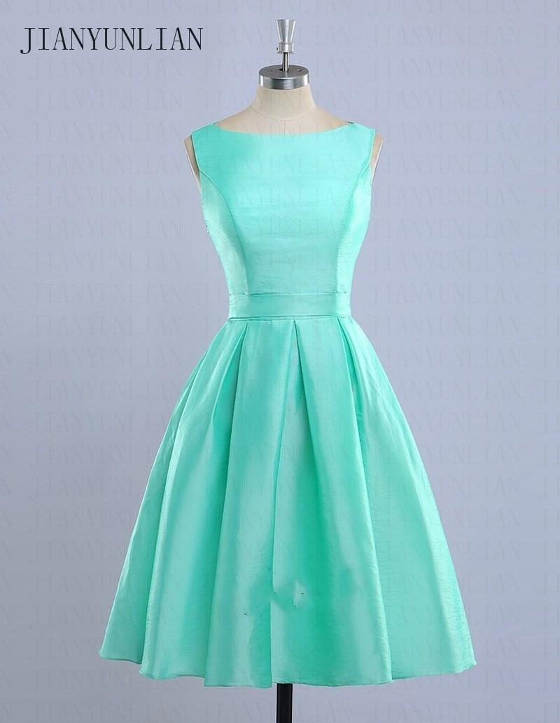 Vestidos De Madrinha Mint Green Bridesmaid Dresses 2020 Light Blue Short Bridesmaids Dress Casamento Robe Demoiselle