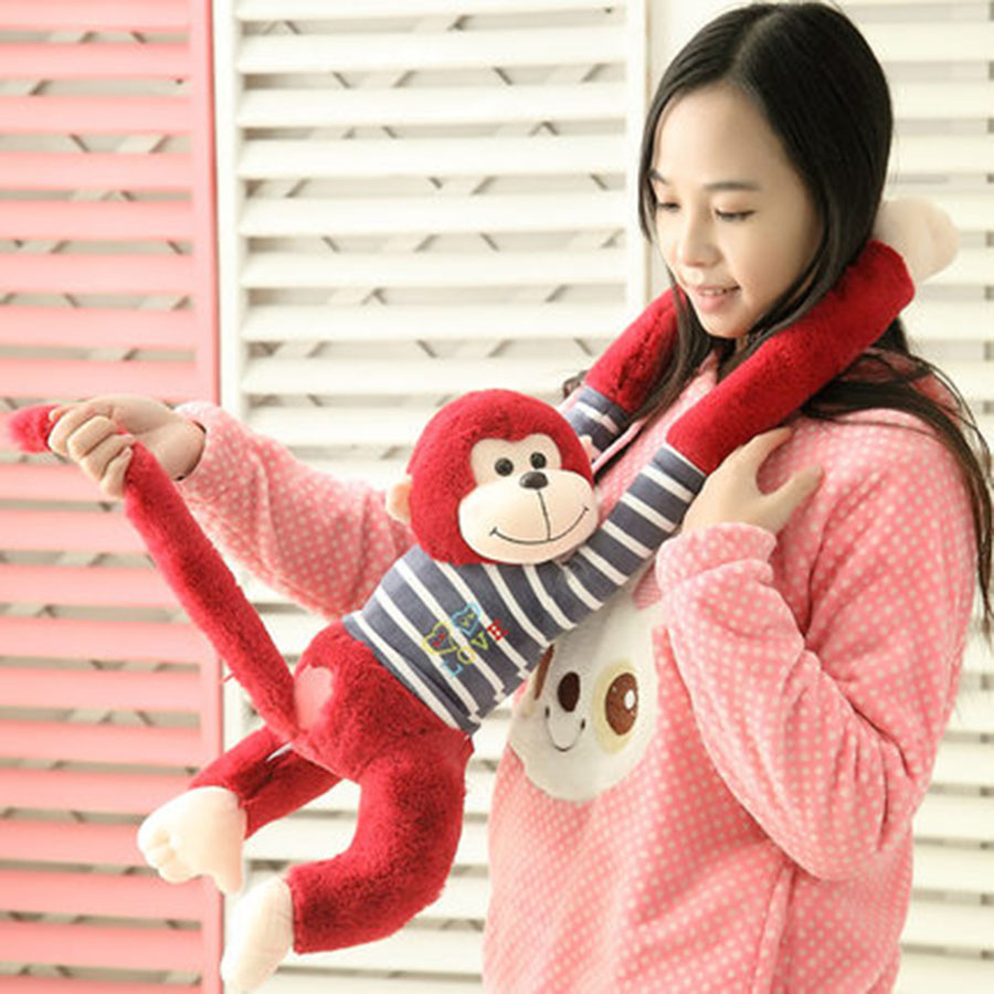 Long Arm Monkey Kids Soft Stuffed Animal Soft Toys For Girls Gifts Birthday Creative Kawaii Long Monkey Plush Toys 70C0573 легковой автомобиль полесье жук 0780