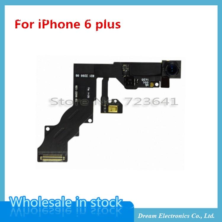 """imágenes para MXHOBIC 5 unids/lote Nueva Cámara Frontal Pequeña Lente Luz de la Proximidad Sensor Flex Cable Para el iphone 6 plus 5.5"""""""