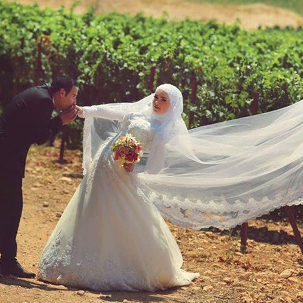 Vestido De Festa Longo Long Sleeve Muslim Custom Court Train Crystals Fashionable Bridal Gown 2018 Mother Of The Bride Dresses