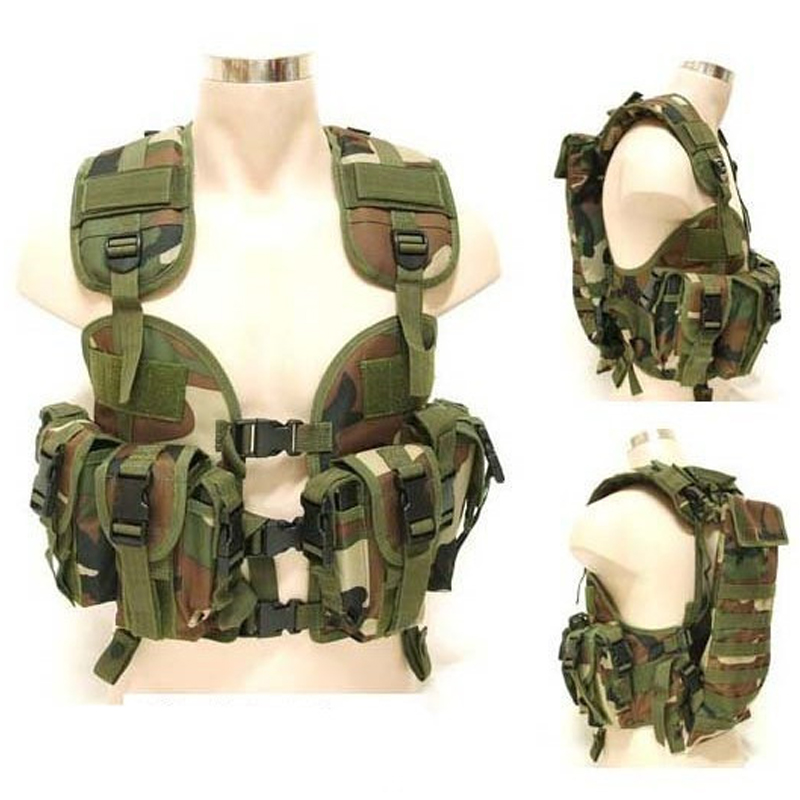 colete tatico militar Outdoor Military Camouflage Hunting safety vest tactical uniform armored Security Protection Tactical vest