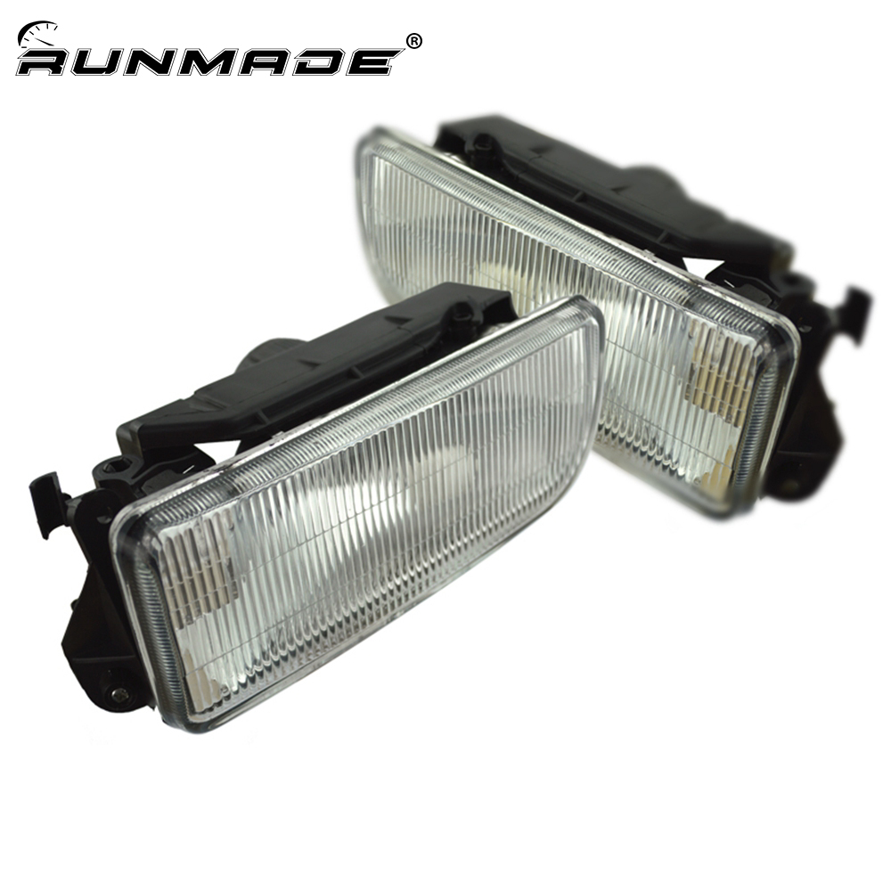 runmade Fog Lights Driving Lamp Housing Case without Bulb for 1992-1998 BMW E36 3-Series Left and Right Side fma full founction pro