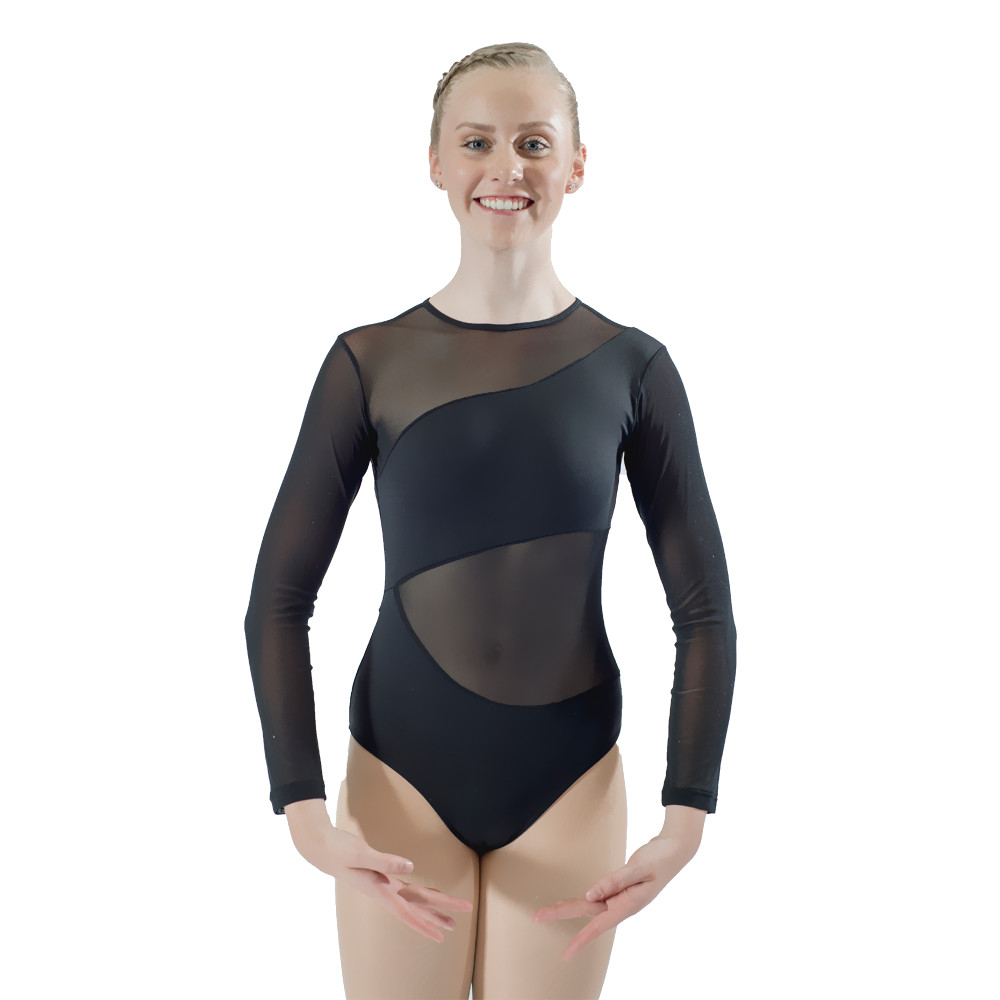 dancer's-choices-white-cotton-lycra-mesh-long-sleeve-font-b-ballet-b-font-dancing-leotard-for-performance-for-ladies-and-girls